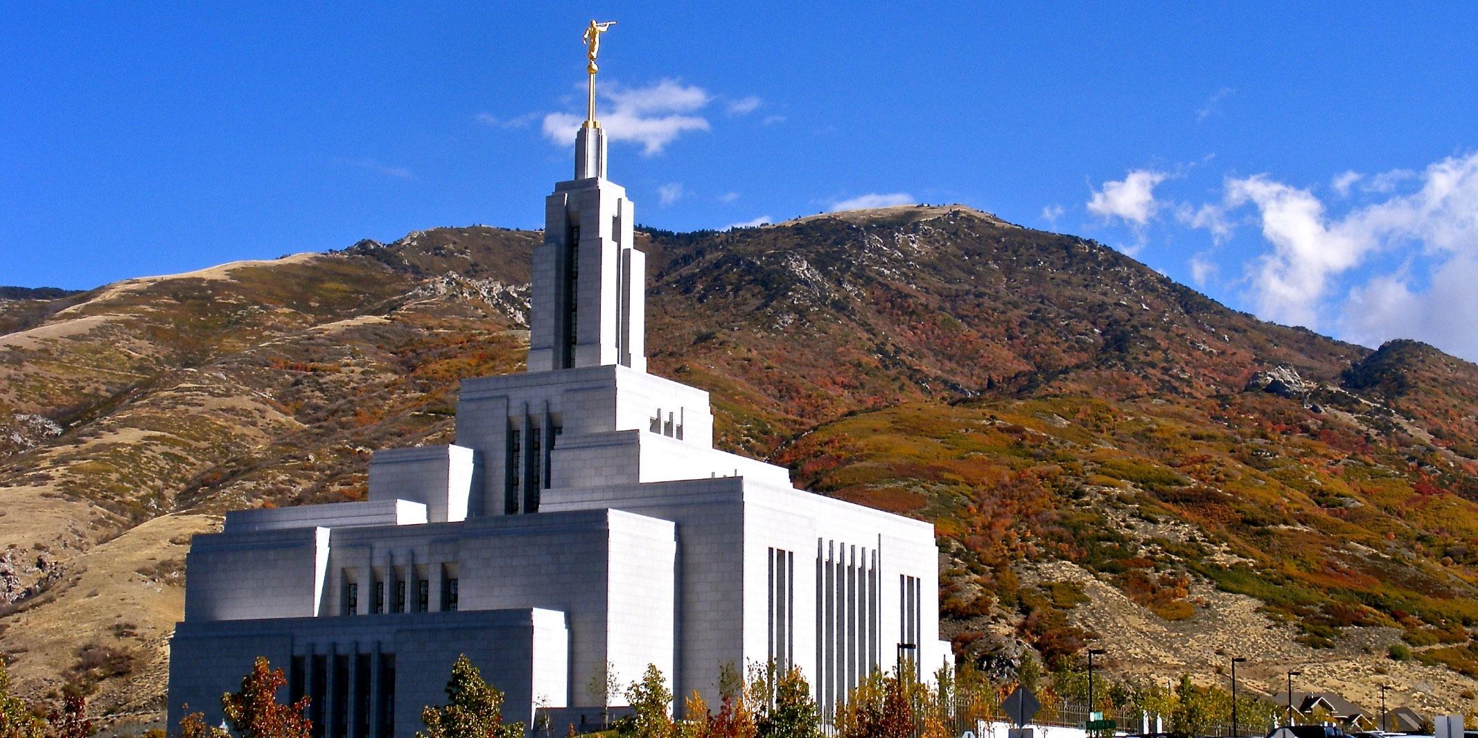 Image of Draper Utah Temple via lds.org